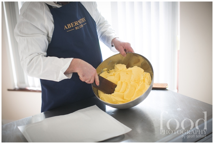 Food Photography by Geoff Telford - Abernethy Butter Company Dromore - Hand Churned Butter - Food Photographer Northern Ireland